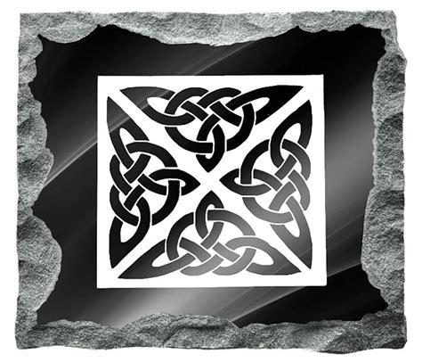 celtic headstone designs gravestones
