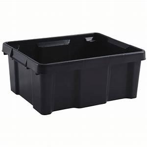 Bac Degraisseur Obligatoire : eda plastiques bac pro 20 l gris anthracite caisse de ~ Premium-room.com Idées de Décoration