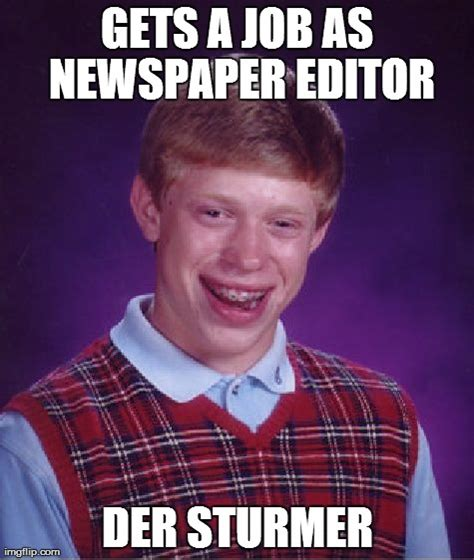 Meme Editor Photo - bad luck brian meme imgflip