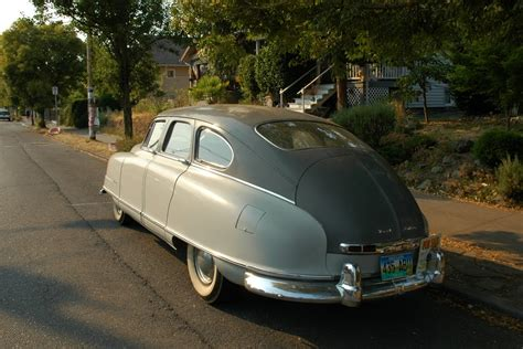 OLD PARKED CARS.: 1950 Nash Airflyte Statesman.