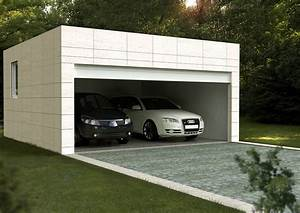 Garajes prefabricados Casas prefabricadas y modulares Cube