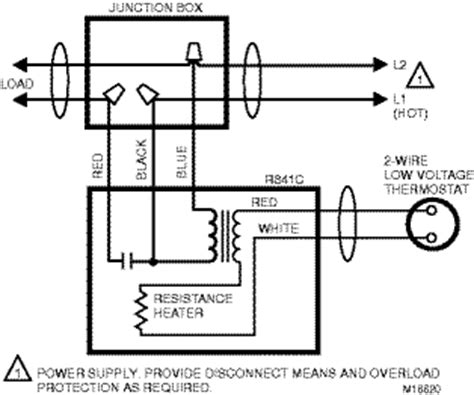 Wiring Electric Heat Relay