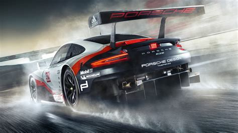 Wallpaper Porsche 911 Rsr, Racing, Hd, 4k, Automotive