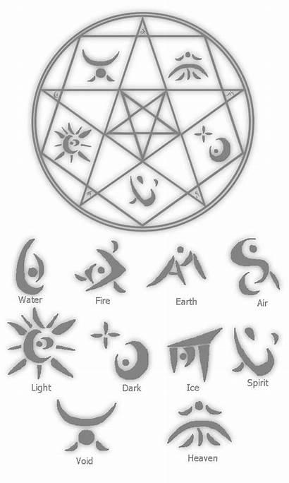 Magic Circle Symbols Demon Ancient Deviantart Glyphs