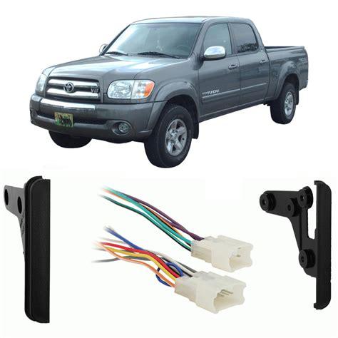 Car Radio Wiring Harnes 2005 Tundra by Toyota Tundra Cab 2004 2005 Ddin Car Stereo Harness