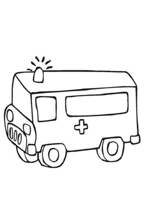 ausmalbilder rettungswagen transport malvorlagen