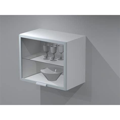 meuble cuisine largeur 55 cm meuble haut en verre lift 60cm de largeur