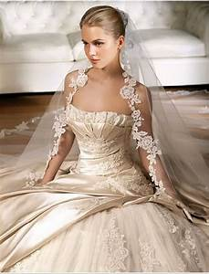 light champagne wedding dress cinderella39s wedding day With veil for champagne wedding dress
