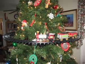 mounts in inside tree track set sound light lights noise ebay