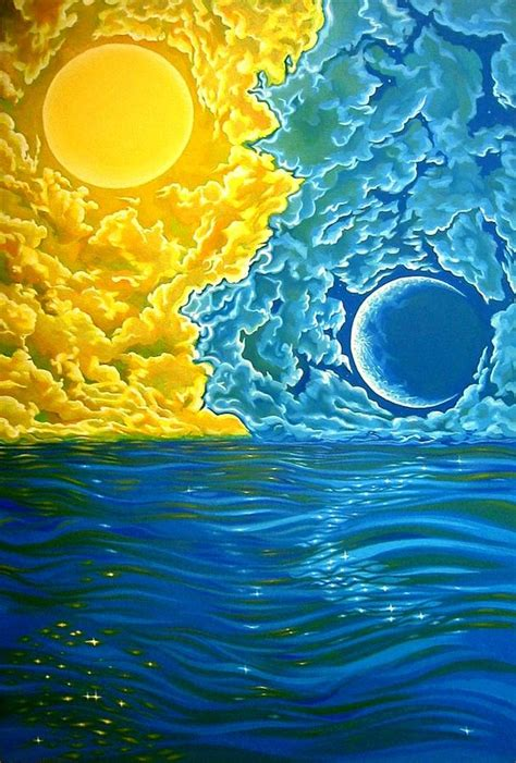 johnsdramaticturn | Sun art, Moon art, Art