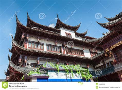 casa cinese casa cinese tradizionale con i bei tetti scolpiti in