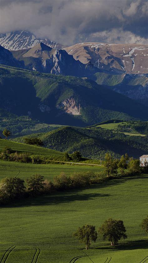 papersco iphone wallpaper mk mountain summer green