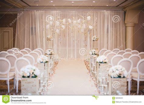 Formal Dinner Table Setting Ideas Beautiful Wedding Ceremony Design Decoration Elements Stock Photo Image 60535520