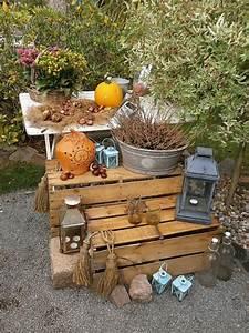 Herbst Dekoration Tisch : herbst dekoration gartenwedlers ~ Frokenaadalensverden.com Haus und Dekorationen