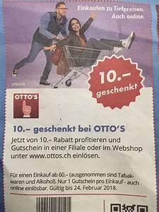 Otto Neukunden Rabatt Code : 10 franken geschenkt bei otto s ab 60 franken einkauf preispirat ~ Bigdaddyawards.com Haus und Dekorationen