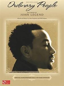 Ordinary People Sheet Music By John Legend Sheet Music Plus