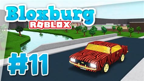Bloxburg #11  Brand New Car (roblox Welcome To Bloxburg