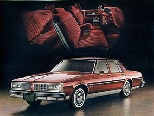 1981 Oldsmobile Delta 88 Royale 4 Door Sedan