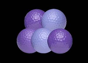 (36) NEW Putt Putt Golf Balls - Purple | Women's Golf ...