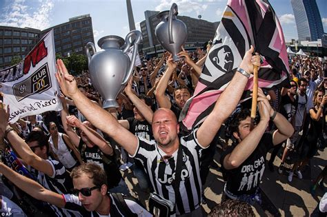 Barcelona and Juventus fans descend on Berlin as they get ...