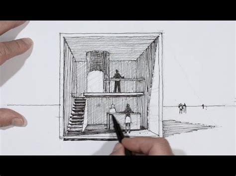 chambre qui fait peur dessiner en perspective un cube habité