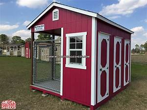dog kennel mega storage sheds With tuff shed dog house