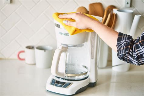 One of the simplest ways to clean a coffee machine is by using vinegar. How To Clean a Coffee Maker   Kitchn