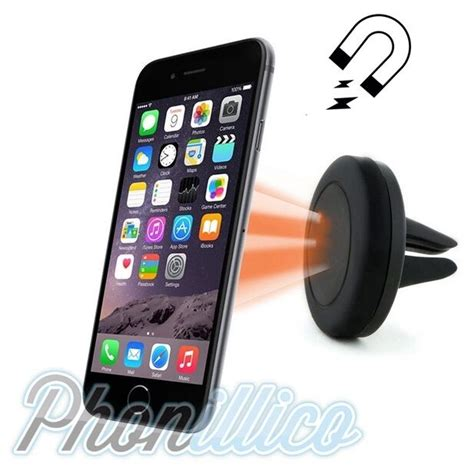 support aimant telephone voiture support voiture magnetique aimant smartphone pour apple