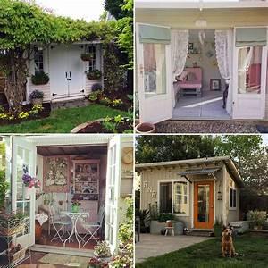 She Shed Inspiration POPSUGAR Home