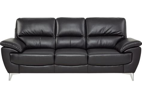 northway black sofa sofas black