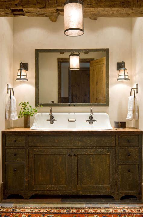 Vanity Bathroom Ideas by 31 Impressive Diy Rustic Farmhouse Bathroom Vanity Ideas