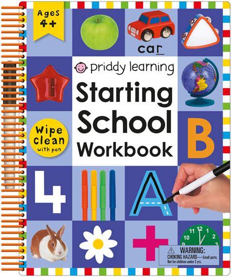 0008151601 starting school workbook ages wipe clean starting school workbook roger priddy