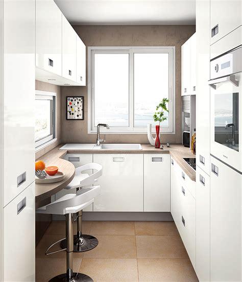 cuisines petites surfaces aménager un coin repas dans une cuisine mobalpa