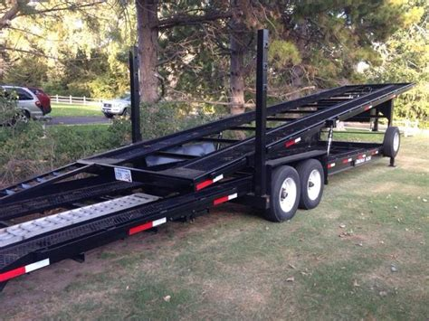 appalachian  car hauler stacker trailer nex tech