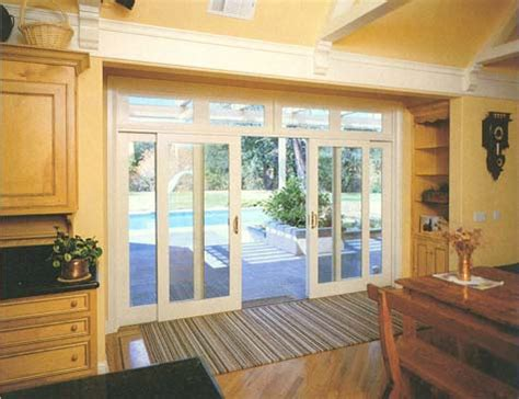 glass exterior sliding door images
