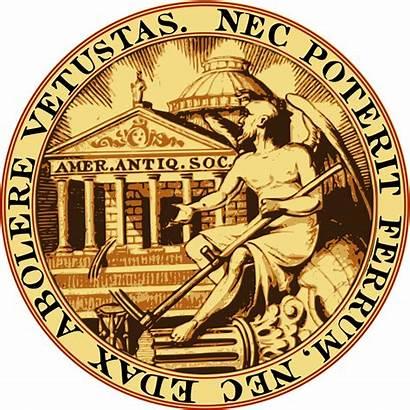 American Svg Soc Seal Antiq Society Antiquarian