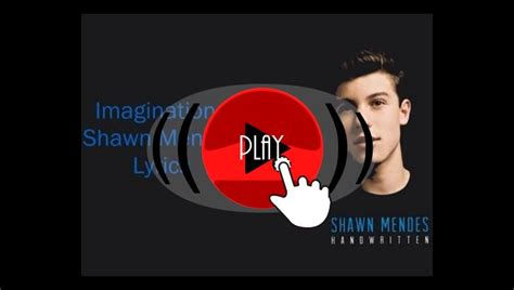 Música Shawn Mendes Imagination