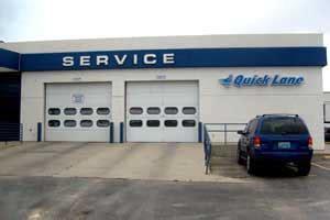 oil change tire auto repair quick lane greiner ford