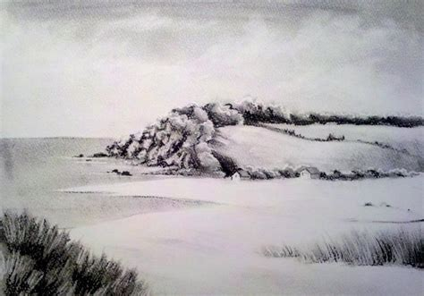 landscape drawings nature drawings pictures drawings