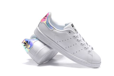 Adidas Originals Stan Smith J Unior Iridescent Hologram