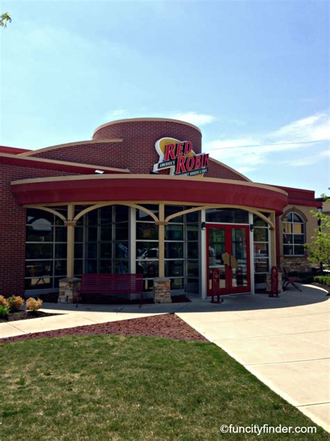 red robin burgers bottomless fries  noblesville