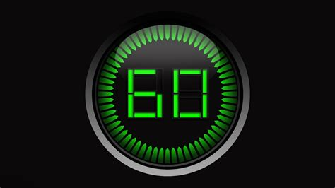 top sec countdown timer green clock sound effects