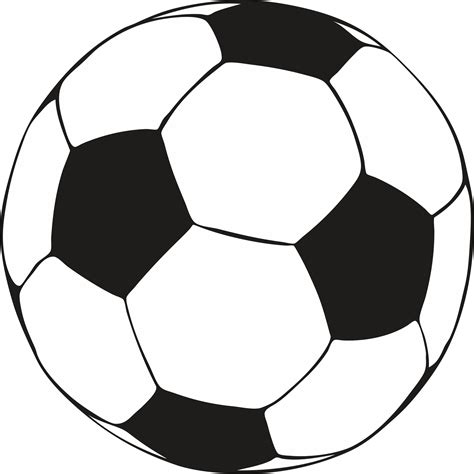 printable pictures  soccer balls clipartsco