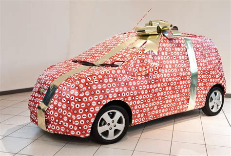 chevy wraps the spark as a christmas gift autoevolution