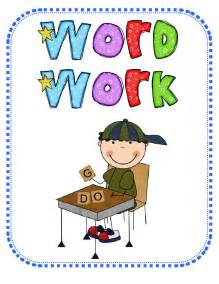 Daily 5 Word Work Clip Art