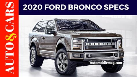 ford bronco specs news   review youtube