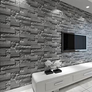 Graue Tapete Wohnzimmer : spektakul re inspiration stein tapete 3d wohnzimmer und herrliche grau interior design ~ Sanjose-hotels-ca.com Haus und Dekorationen