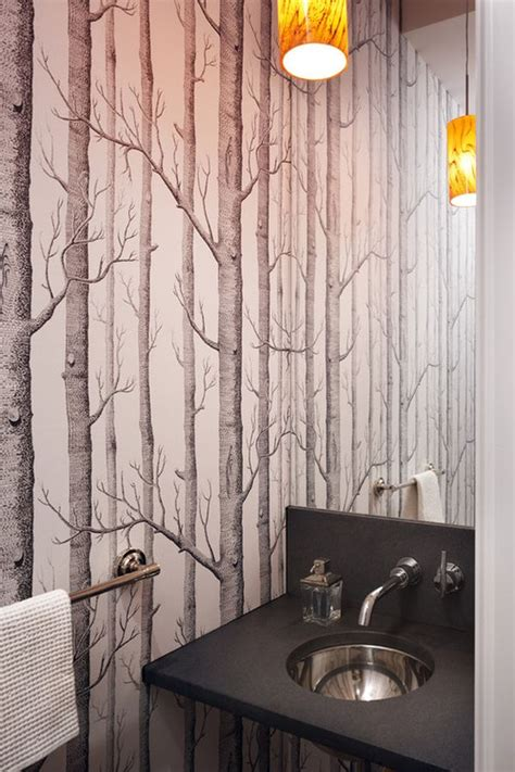 Bathroom Wallpaper Designs by Wallpaper When It Works It Really Really Works