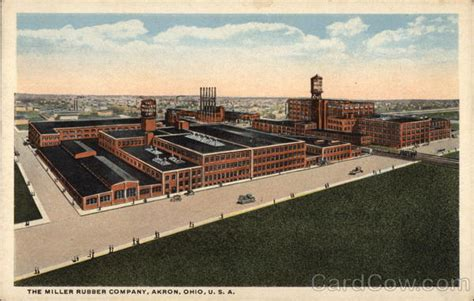 l post akron ohio the miller rubber company akron oh