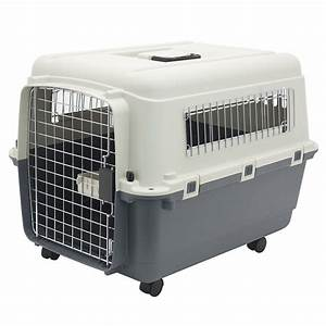 rolling travel dog crate airline approved wire door With travel large dog crate